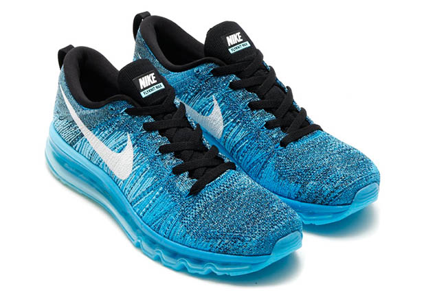 flyknit air max blue
