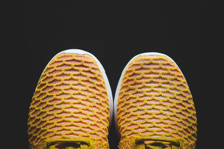 Nike Flyknit Roshe Run Trenere Gul n6tTwsQ8