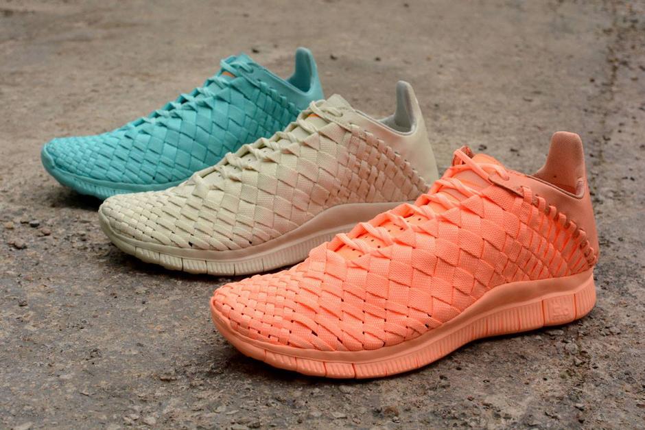 size 40 d6944 f3e67 Nike Free Inneva Woven SP In Three Tonal Colorways - SneakerNews.com