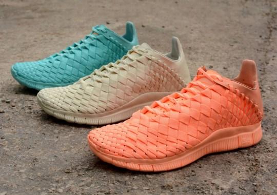 Nike Free Inneva Woven SP In Three Tonal Colorways