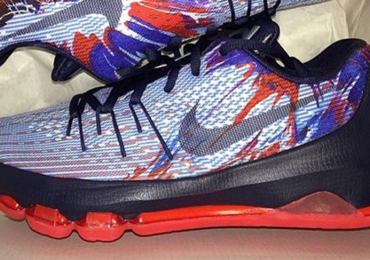 "Another Look at the Nike KD 8 ""USA"""