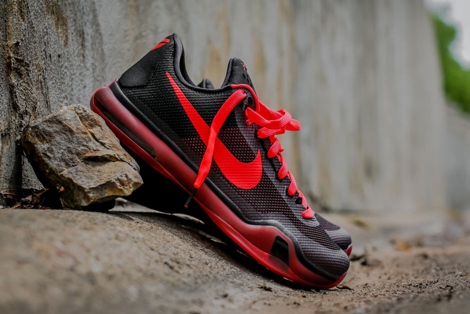 A Detailed Look At The Nike Kobe 10 Quot Bright Crimson