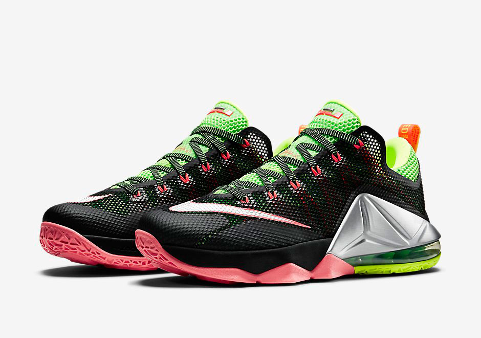 pretty nice 15466 c73b6 Upcoming Nike LeBron 12 Low Combines Volt and Hot Lava - SneakerNews.com