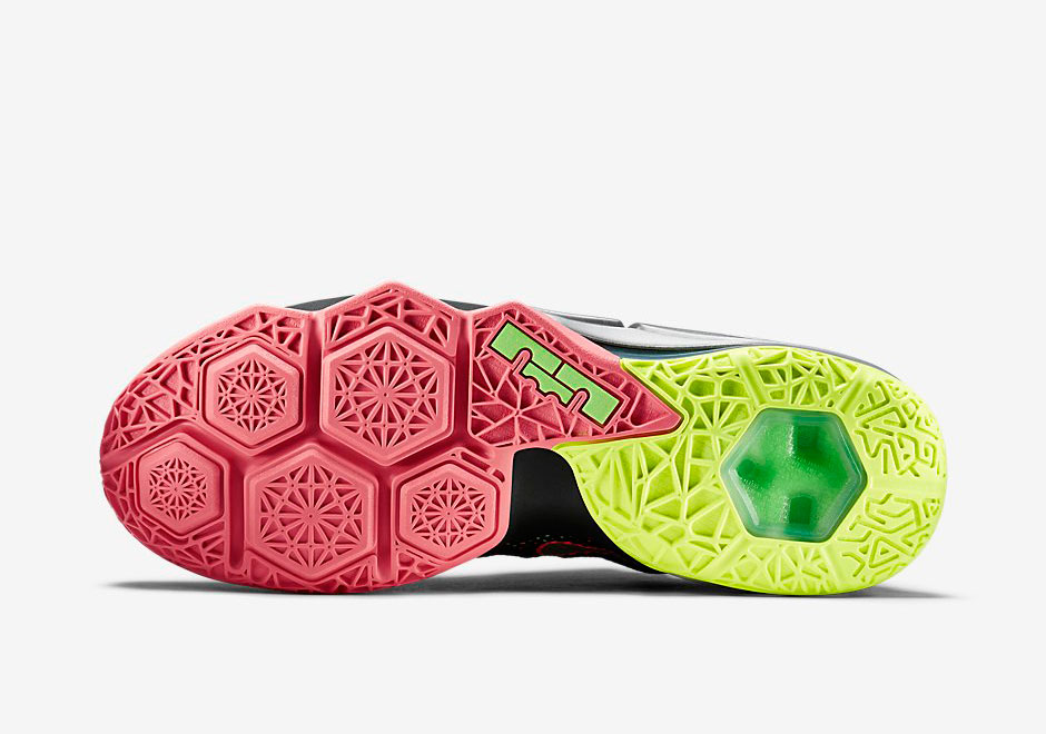 e611aa0cc66d3 Upcoming Nike LeBron 12 Low Combines Volt and Hot Lava - SneakerNews.com