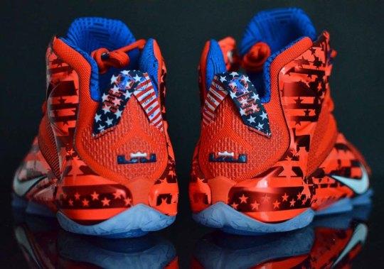 "Nike LeBron 12 ""USA"" – Release Date"