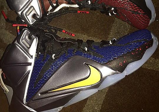 "Nike LeBron 12 ""What The"" Sample"