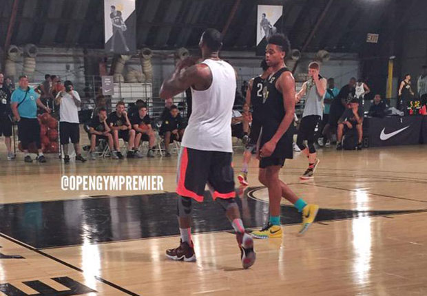 separation shoes 2ad15 f99e5 Is LeBron James Wearing The Nike LeBron 13