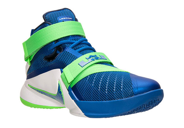 nike lebron soldier 9 green red