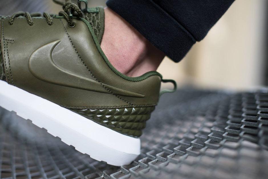 Nike Roshe NM Flyknit PRM Rough GreenBlack