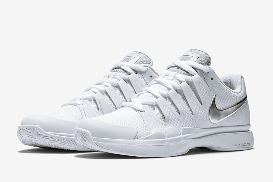 nike vapor 9.5 tennis shoes all white nike | Vprege Repnik