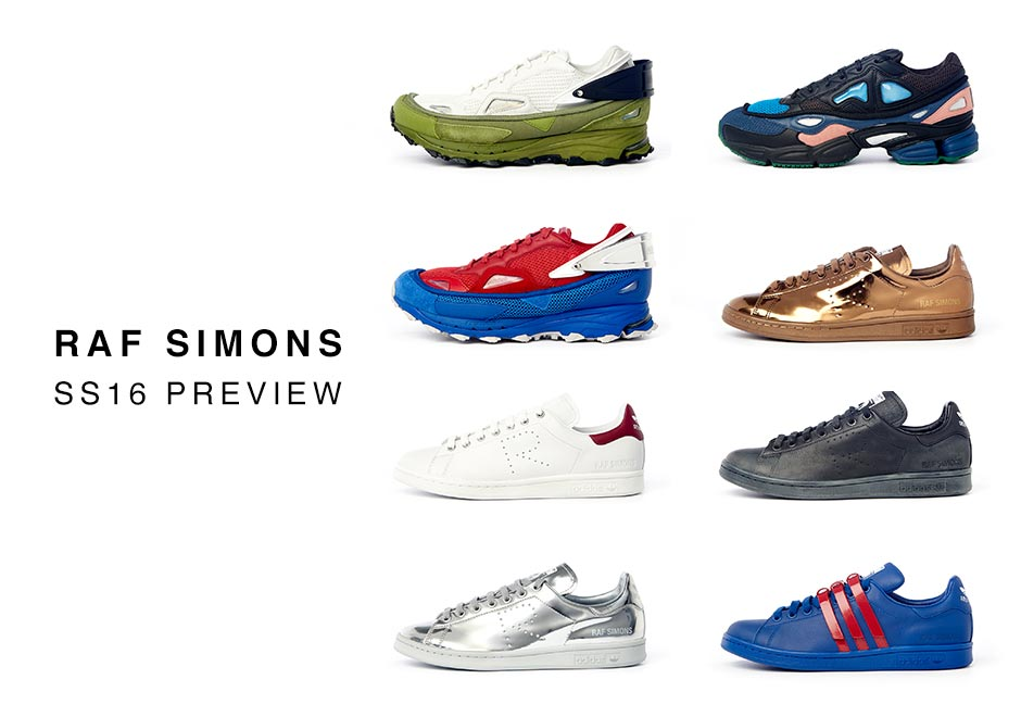 classic styles classic style latest fashion A Complete Preview Of The Raf Simons x adidas Originals ...