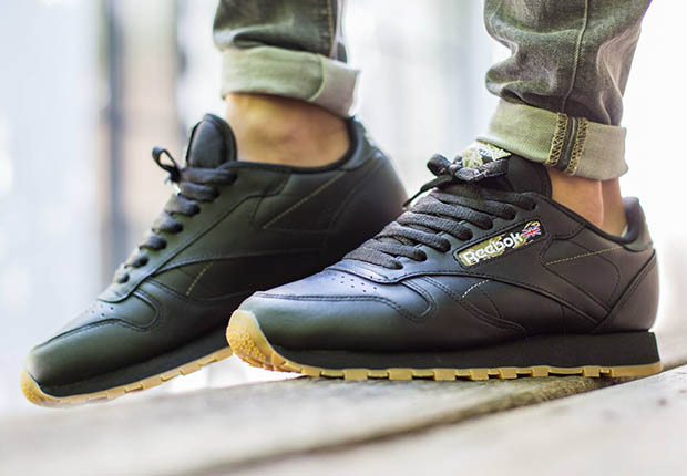Reebok Classic Leather Svart