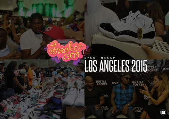Kevin Durant, Wale & More Showed Up at Sneaker Con Los Angeles