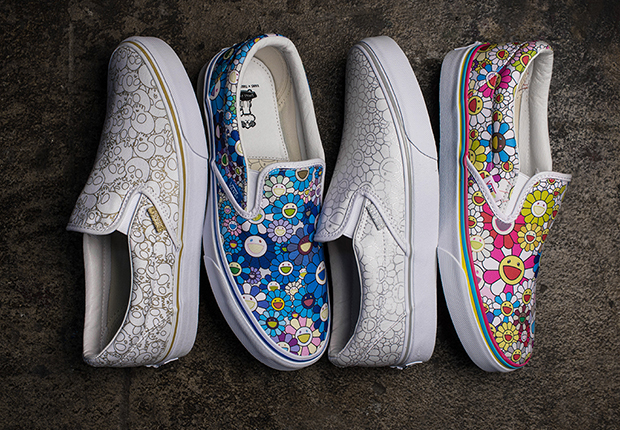 93edd5d0bccb Takashi Murakami s Signature Artwork To Appear On Classic Vans Shoes ...