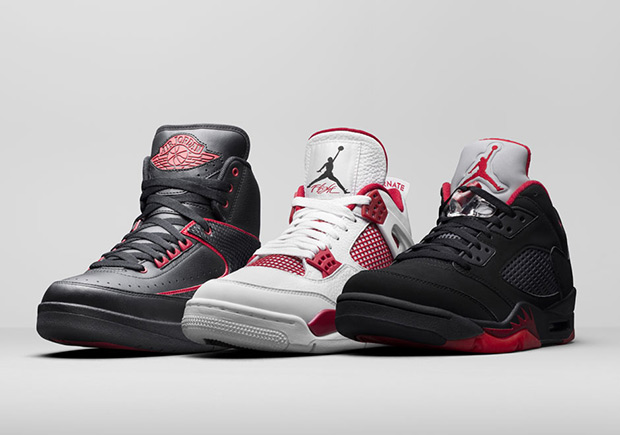 """Jordan Brand surprised everyone when they showcased official images of  three new upcoming Spring 2016 retro collections. The above pictured  """"Alternate"""" Pack ... cd528dea4f"""