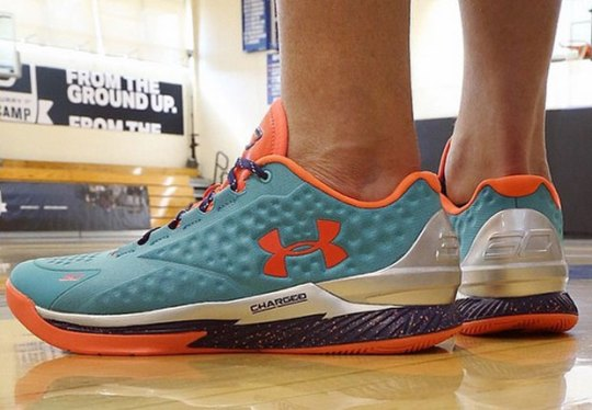 Under Armour Invited The 20 Best High School Points Guards To Train With Steph Curry