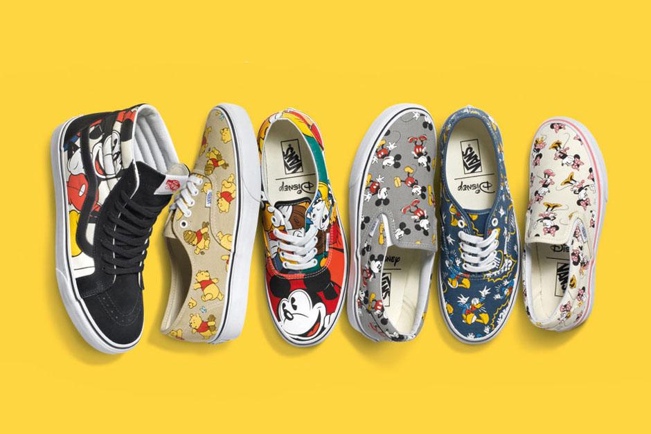Vans and Disney Release \