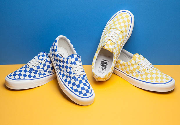 The Iconic Vans Era Quot Checkerboard Quot Releases In Two New