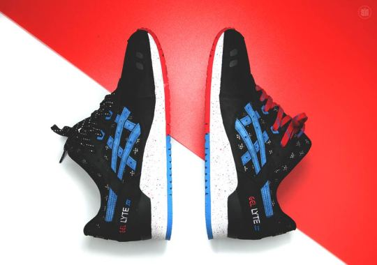 "Wale And Villa Make Noise With The Asics Gel Lyte III ""Bottlerocket"""