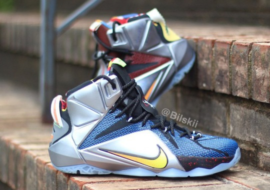 "New Details Of The Nike ""What The"" LeBron 12 Emerge"