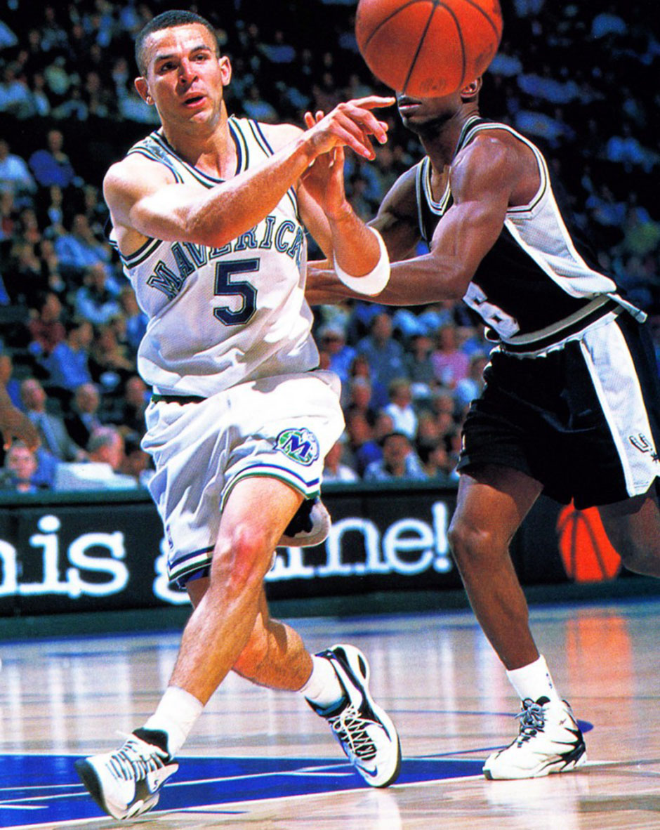 893eb0565c74 ... of the shoe on the court. Most closely associated with a young Jason  Kidd
