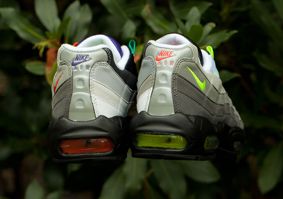 "sports shoes 7ec48 24811 ... 360 release date The ""What The"" Air Max 95 Lets You Get Greedy With  Colorways Nike ..."