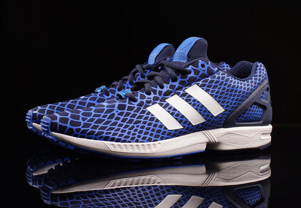 new style 82557 09c12 adidas ZX Flux Techfit - Royal Blue - SneakerNews.com