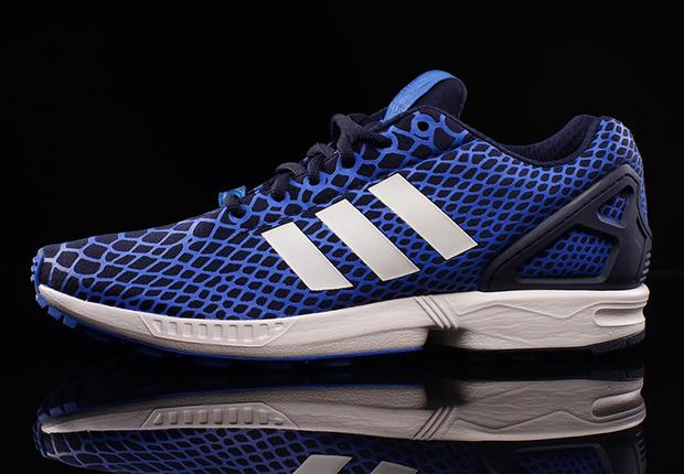 adidas ZX Flux Techfit - Royal Blue