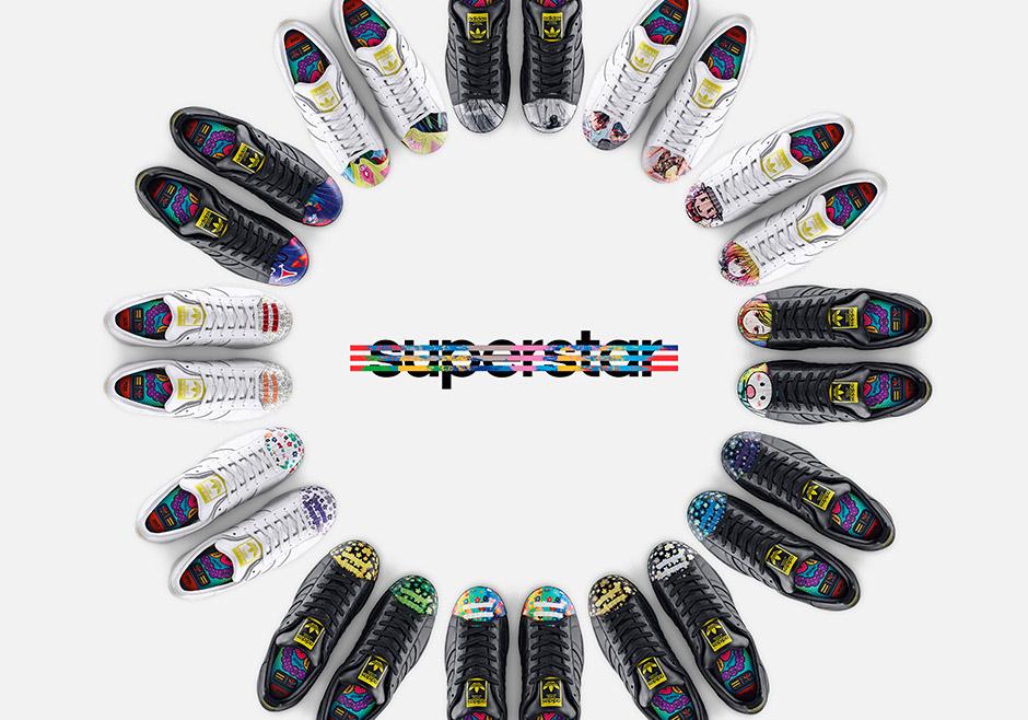adidas superstar artwork collection