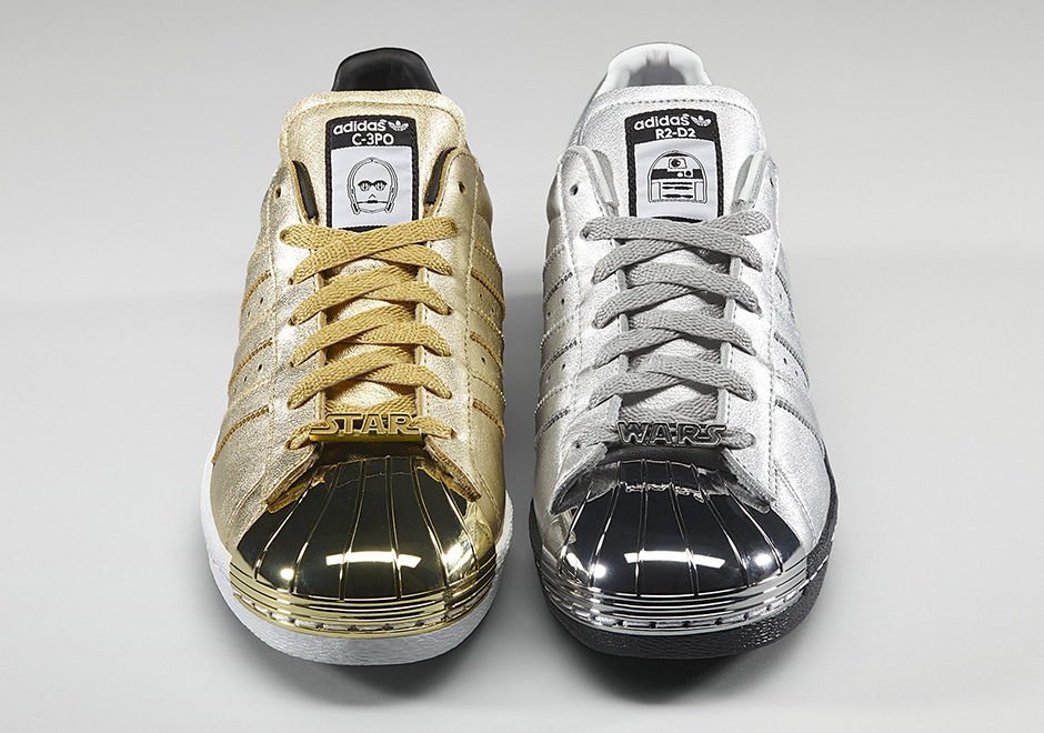 C-3PO, R2D2, and All Your Favorite Star Wars Characters Hit The adidas Superstar - SneakerNews.com