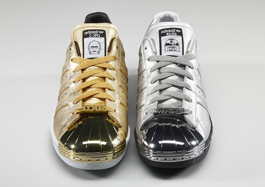 C-3PO, R2D2, and All Your Favorite Star Wars Characters Hit The adidas Superstar