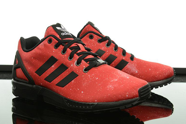 Adidas Zx Flux Red Galaxy