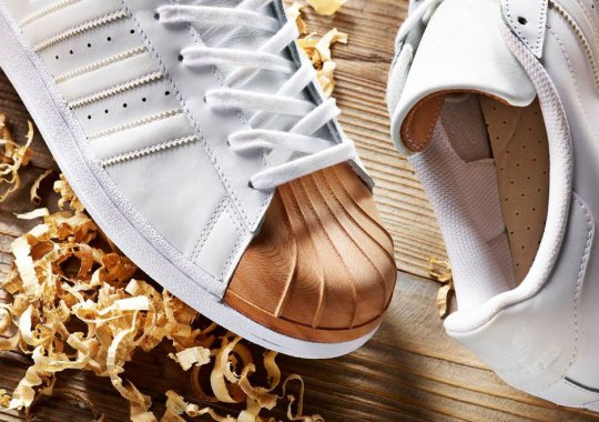 afew Brings A Wooden Shelltoe To Their adidas Superstar Collaboration