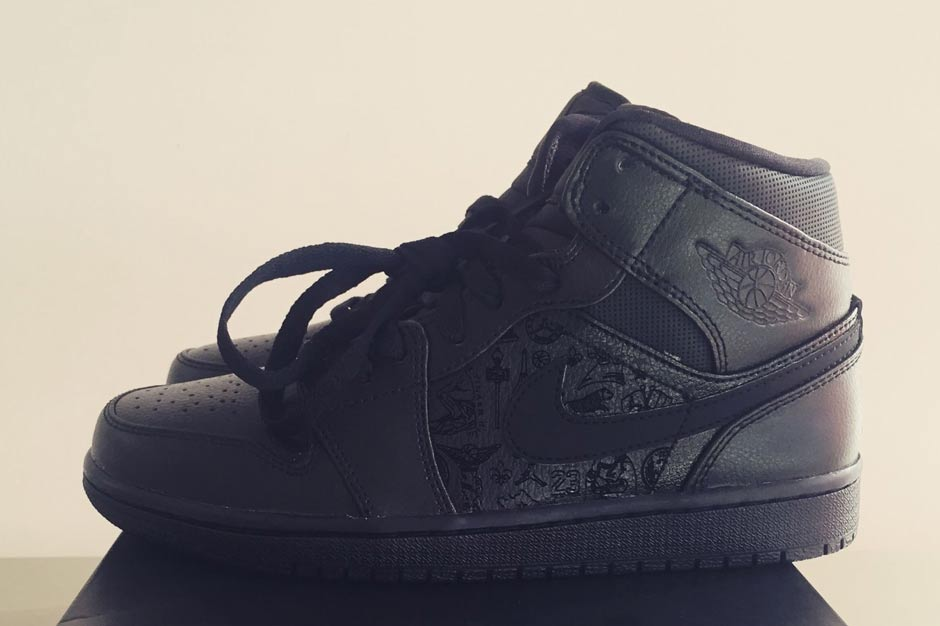 """online store a0c80 e7a94 Get Ready For A Huge Jordan Restock Just In Time For Back To School Season.  4  5 August 24, 2015 0 by Patrick Johnson · Air Jordan 1 Mid """"Laser"""" From  Palais ..."""