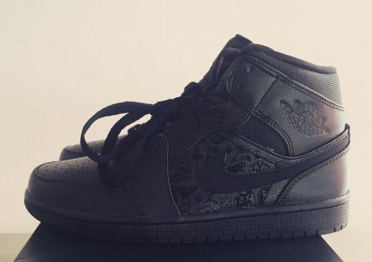 """Air Jordan 1 Mid """"Laser"""" From Palais 23 on eBay"""