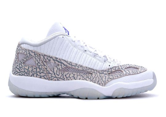 "Air Jordan 11 IE Low ""Cobalt"" – Release Date"