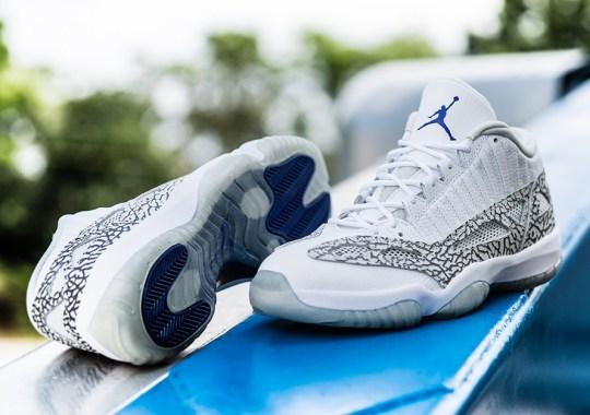 "A Detailed Look At The Air Jordan 11 IE Low ""Cobalt"""