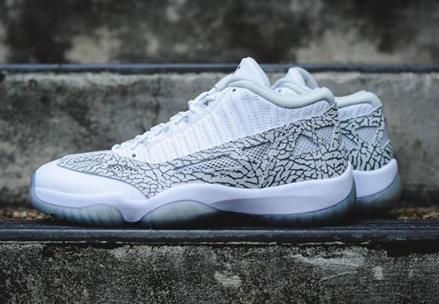 sports shoes 1474a 48a4d Air Jordan 11 IE Low Retro - Release Reminder - SneakerNews.com