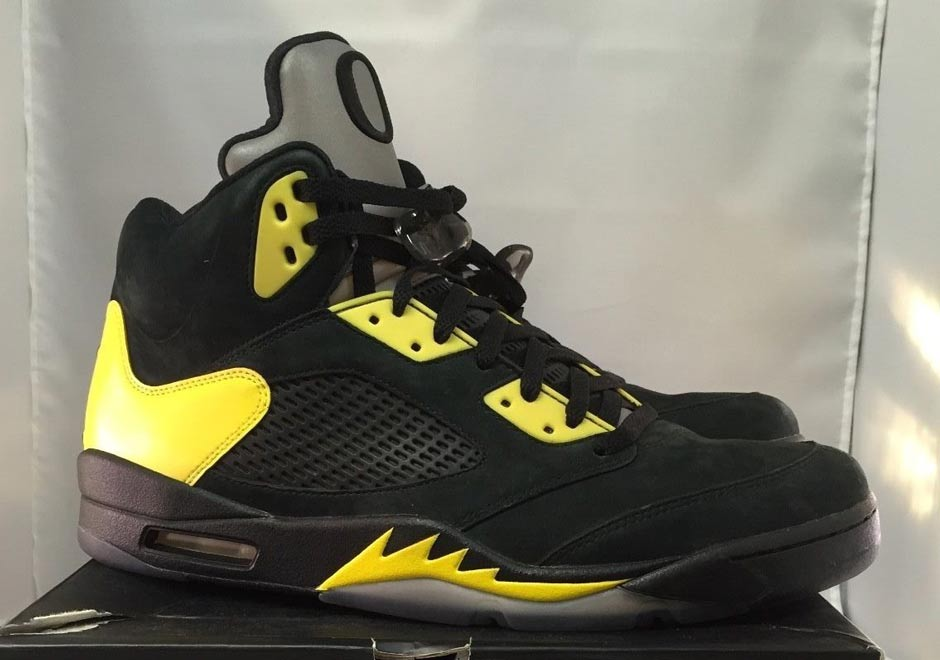 Air Jordan 5 Oregon - Tag | SneakerNews.com