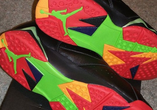 "Air Jordan 7 ""Marvin The Martian"" – Release Date"
