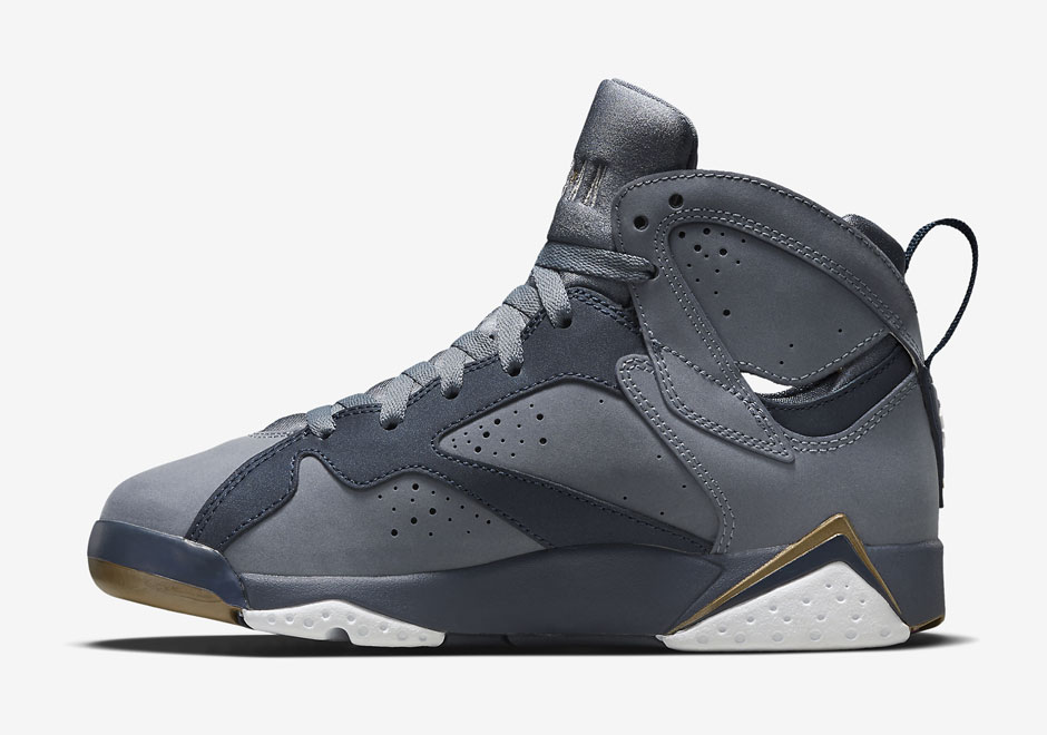 "d9ef84c4a066 Air Jordan 7 GG ""Blue Dusk"". Color  Blue Dusk Metallic Gold-Obsidian-White  Style Code  442960-407. Release Date  07 25 15. Price   140"