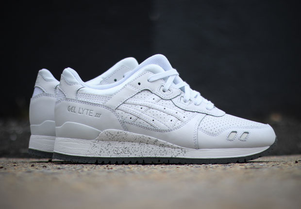 asics gel lyte white and grey