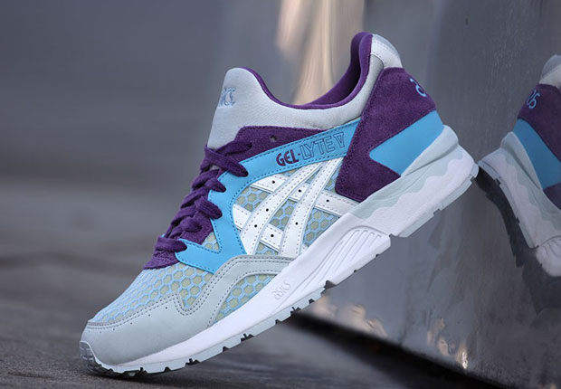 asics tiger gel lyte v blue