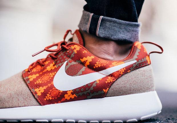 Nike Roshe Run Flyknit Rojas
