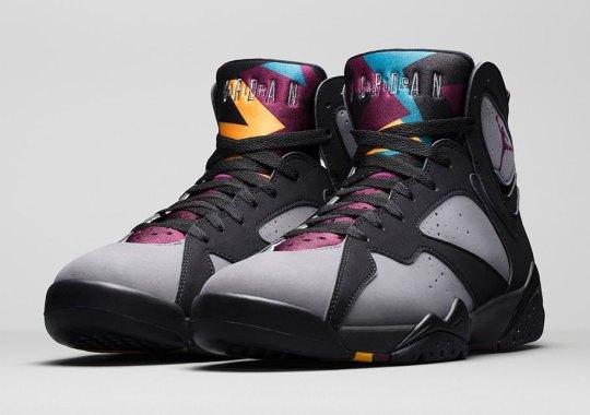Jordan Brand Is Almost Halfway Done With OG Air Jordan 7 Releases