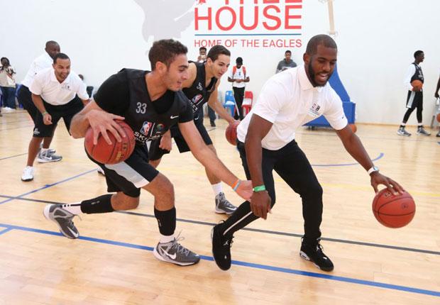 buy online b9567 8941d Chris Paul Joins NBA In Africa With Air Jordan 6 Low