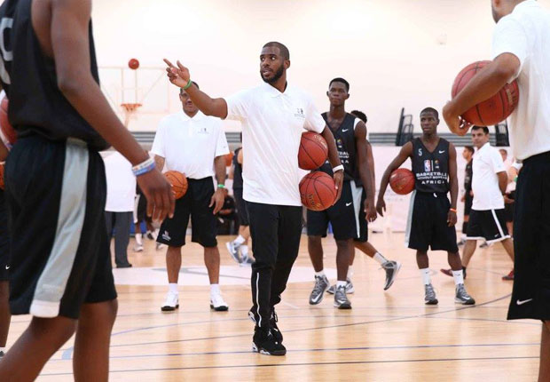 a6a68c69bf3 Chris Paul Joins NBA In Africa With Air Jordan 6 Low