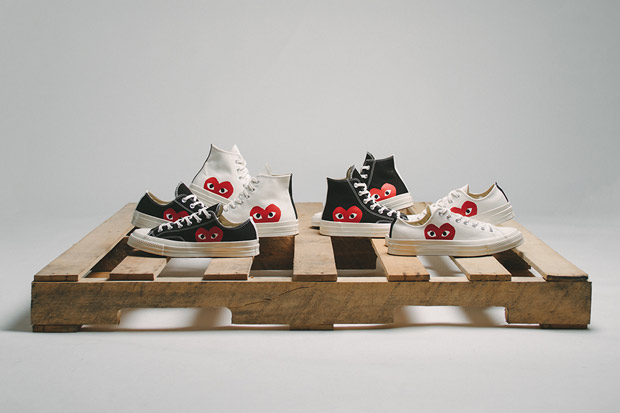 ce322d06ac6 durable service COMME des Garcons and Converse Is Back With Bigger Logos