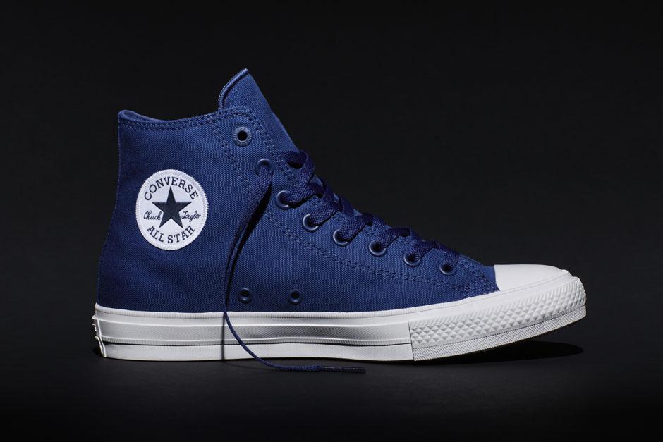 converse chuck 2 xanh