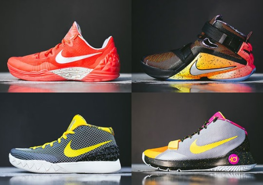 "A Detailed Look At The Nike Basketball ""Rise"" Collection"